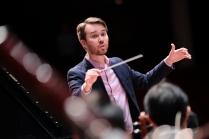 Rehearsal with Collegium Musicum Hong Kong at Hong Kong City Hall Concert Hall